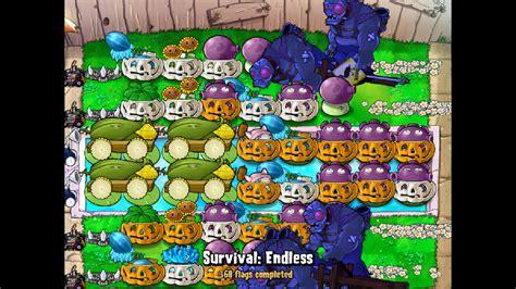 endless survival strategy strategies zombies plants vs wikia shroom shrooms