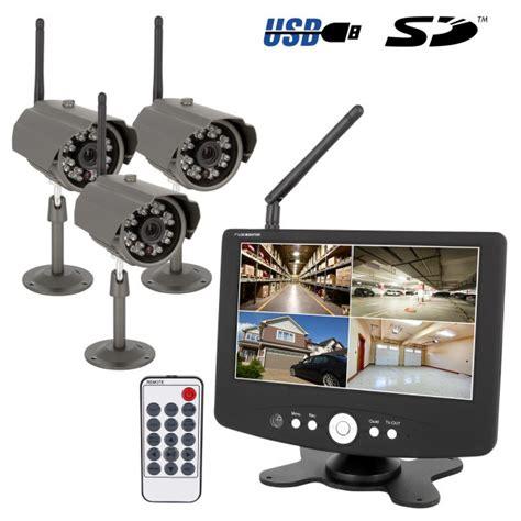 funk überwachungskamera mit monitor hd funk 220 berwachungssystem 252 berwachung mit monitor