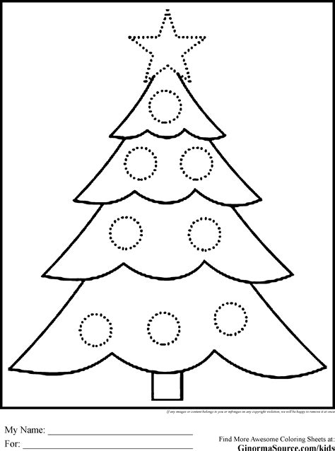 christmas tree coloring pages coloring book