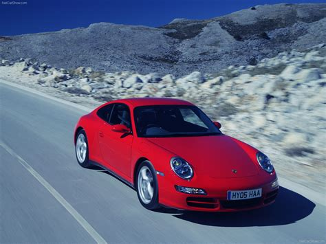 red porsche 2007 red porsche 911 carrera 4 wallpapers