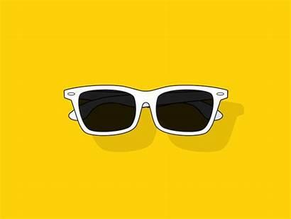 Sunglasses Cartoon 2d Cinema Shades 4d Bright