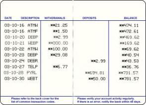 Bank Savings Account Book