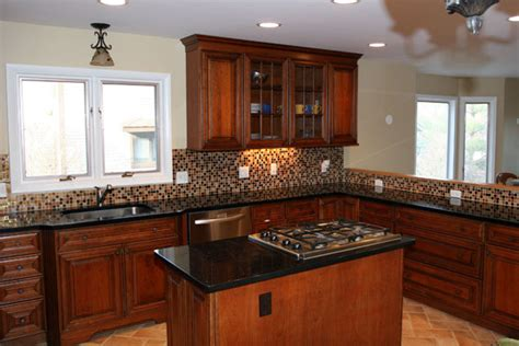 kitchen work islands transitional townhouse kitchen with island and stove