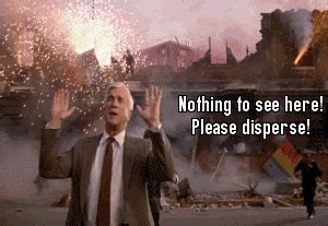 leslie nielsen explosion gif pence gifs find share on giphy