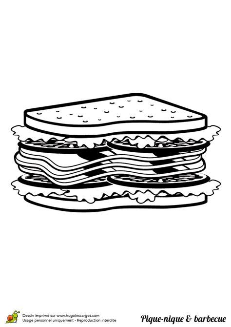 cuisine d coloriage pique nique barbecue salami sur hugolescargot