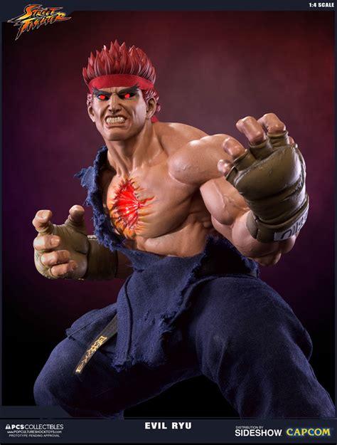 Street Fighter Evil Ryu Statue By Pop Culture Shock