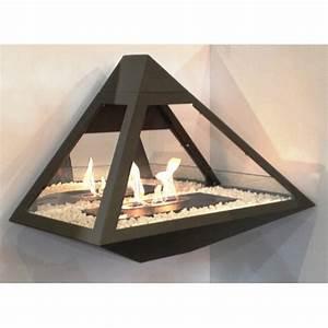 Chauffage à L éthanol : cheminee bio ethanol pyramide ~ Premium-room.com Idées de Décoration