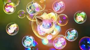 Chibi Eeveelutions bubbles by digi-fan111 on DeviantArt