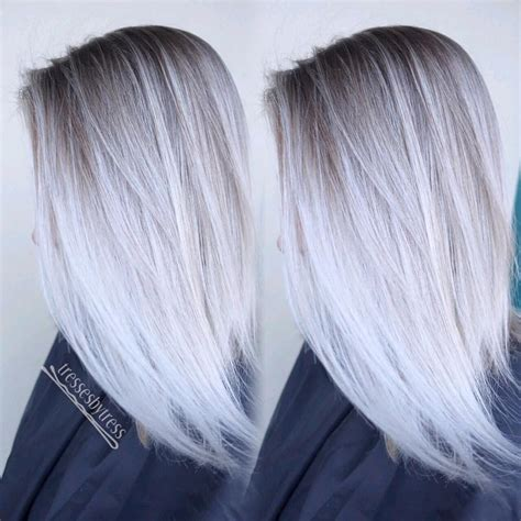 platinum hair color styles ombre hair platine trendy ombre hair platine with ombre 3313