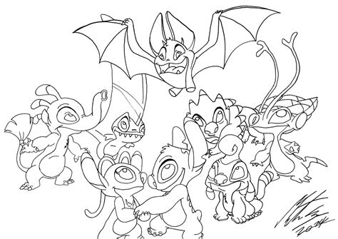 Lilo Coloring Pages - Costumepartyrun