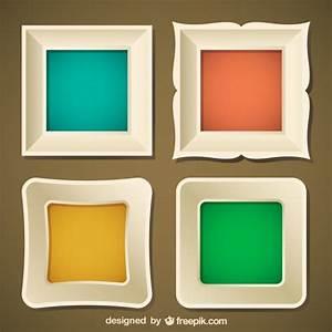 Stylish frame set Vector | Free Download