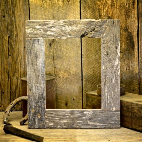 barn wood picture frames 8x10 rustic barnwood picture frame 2 27 designs