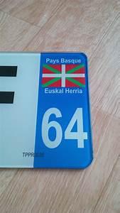 Plaque D Immatriculation Des Pays : plaque plexiglass 64 pays basque pa64 1 plaques d 39 immatriculation et stickers autocollant ~ Medecine-chirurgie-esthetiques.com Avis de Voitures