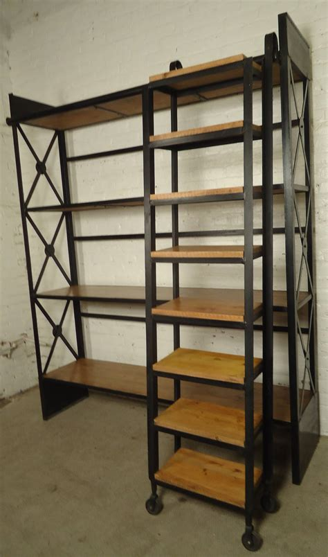 Wood And Iron Shelves Home Ideas
