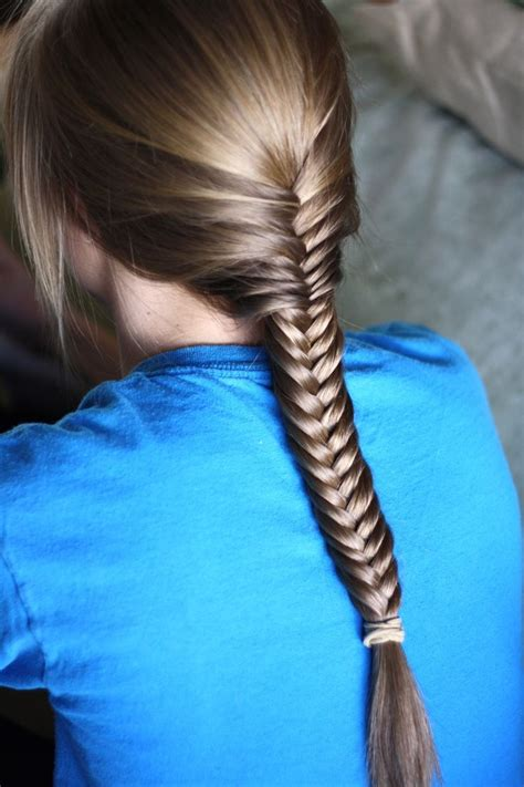 20 beautiful fishtail braided hairstyles styles weekly