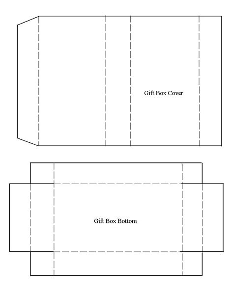 business card box template pdf template for recycled greeting card gift box templates