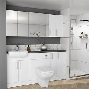 Oliver, 1700, Fitted, Bathroom, Suite