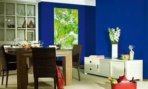 Schöner Wohnen Arbeitszimmer : wandgestaltung in blau sch ner wohnen farbe ocean planungswelten ~ Sanjose-hotels-ca.com Haus und Dekorationen
