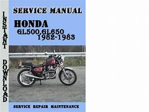 Honda Gl500 Gl650 1982