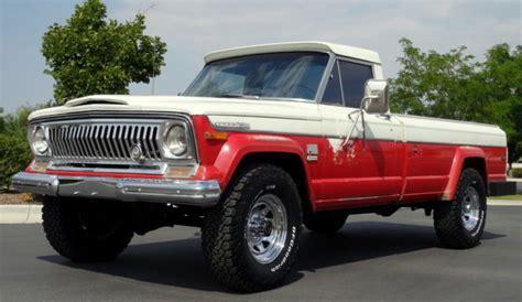 jeep gladiator 1970 1970 jeep j4000 gladiator 4x4 pickup rare all original