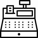 Till Icon Cashier Register Box Tash Svg