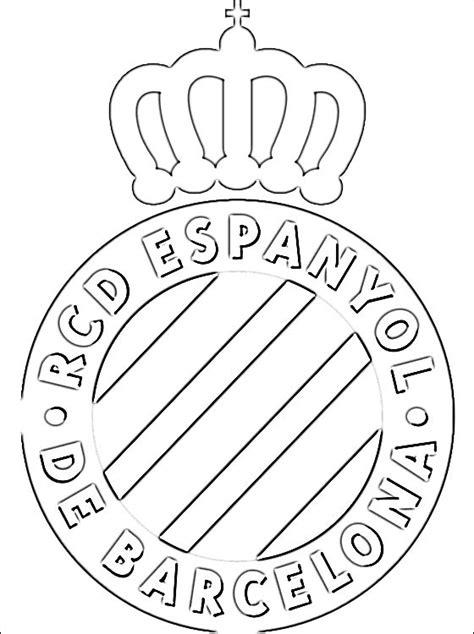 espanyol barcelona da stampare disegni da colorare gratis