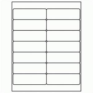 1 1 3quot x 4quot white laser inkjet address sheet label ml With 1 x 3 label template