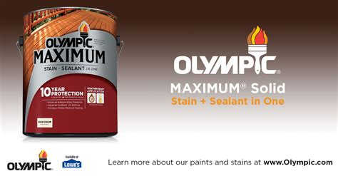 Olympic Maximum Stain And Sealant In One