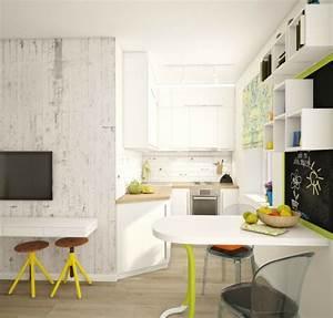 Küche Auf Vinylboden Stellen : kleine k chen einrichten kleine r ume stellen die kreativit t auf die probe ~ Markanthonyermac.com Haus und Dekorationen
