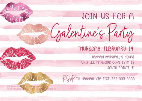 Galentine Invitation