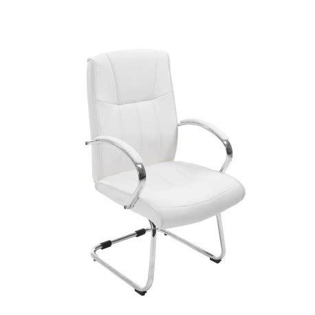 fauteuil de bureau sans roulettes fauteuil chaise de bureau sans en simili cuir