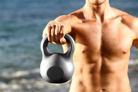 kettlebell exercises weight loss workout fitness training fat kettlebells swings exercise watchfit workouts crossfit strength dreamstime effective most diddy perform
