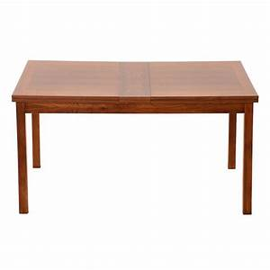Danish modern rosewood dining extension table at 1stdibs for Modern danish dining table