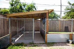 25 best ideas about dog kennel inside on pinterest dog With outdoor fenced dog kennel