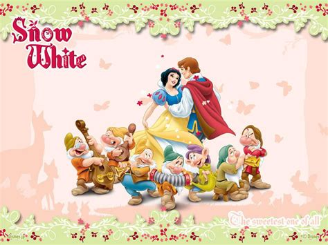 snow white    dwarfs wallpapers wallpaper cave