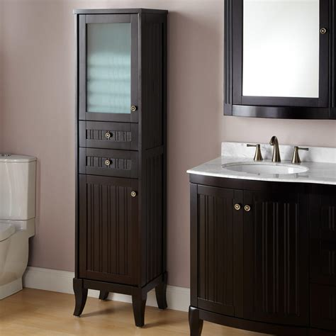 Bathroom Linen Storage Cabinets by 72 Quot Unfinished Mission Linen Cabinet Bathroom