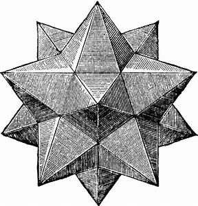 Small Stellated Dodecahedron | ClipArt ETC