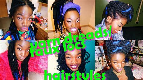 yarn dreadsfaux locs hairstyles   box braids