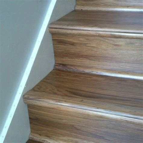 plastic flooring looks like wood luxury vinyl wood planks on stairs for the home