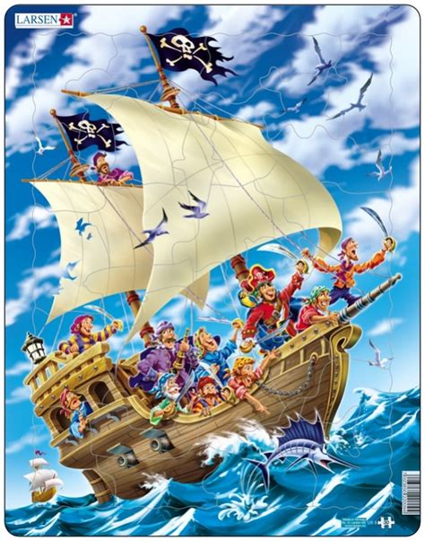 Puzzle Boat by Puzzle Larsen Us9 30 Pieces Jigsaw Puzzles Boats