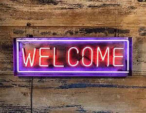 Welcome, Neon, -, Kemp, London