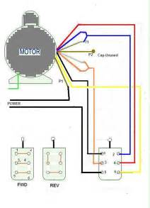 Hampton Bay Ceiling Fan Wiring Colors by How Do I Wire Up A Dayton 6k418ba To A Forward And Reverse