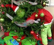grinch christmas tree decorations - Grinch Christmas Tree Decorations