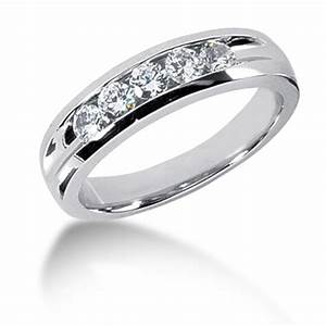 5 Stone Men39s Diamond Rings Wedding Bands And Rings For