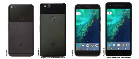 pixel xl 2 and original pixel xl compared side by side android community