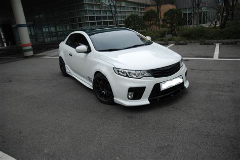 2010 Kia Forte Coupe by 2010 Kia Forte Koup Front Lip Only From Nefdesign Style