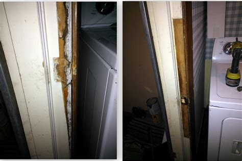 door jamb replacement repair damaged interior door frame basement stunning
