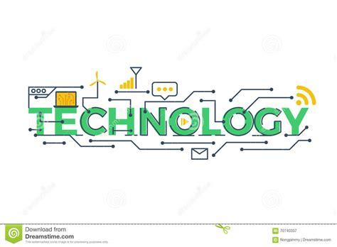 technology word illustration stock vector illustration of illustration engineering 70740337