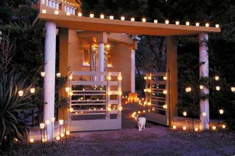 decorar  velas espacios exteriores