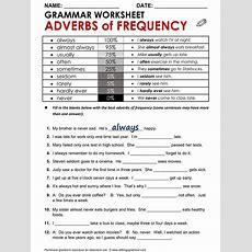 English Grammar Worksheet, Adverbs Of Frequency Httpwwwallthingsgrammarcomadverbsof